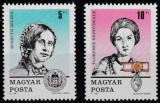 Poštovní známky Maďarsko 1989 Den známek Mi# 4048-49
