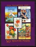 Poštovní známka Maďarsko 1989 Pro philatelia Mi# Block 207 Kat 12€