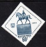Poštovní známka Maďarsko 1964 Socha jezdce na koni Mi# 2052