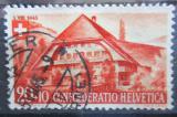 Poštovní známka Švýcarsko 1945 Horská chata Mi# 462