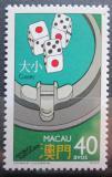 Poštovní známka Macao 1987 Hrací kostky Mi# 580 Kat 15€