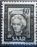 Poštovní známka Sársko 1951 Ludwig van Beethoven Mi# 273