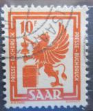 Poštovní známka Sársko 1950 Tiskařský průmysl Mi# 279