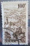 Poštovní známka Sársko 1949 Kostel Mi# 288