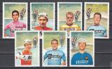 Poštovní známky Manáma 1969 Cyklistika Mi# 134-40 Kat 10€