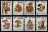 Poštovní známky Zair 1979 Houby Mi# 597-604 Kat 16€