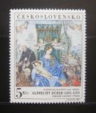 Poštovní známka Československo 1968 Umění, Dürer Mi# 1805 Po# 1695