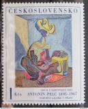 Poštovní známka Československo 1973 Umění, Penc Mi# 2172b