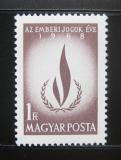 Poštovní známka Maďarsko 1968 Lidská práva Mi# 2473