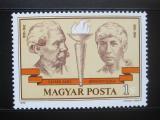 Poštovní známka Maďarsko 1978 Komunističtí učitelé Mi# 3321