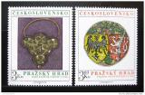 Poštovní známky Československo 1975 Pražský hrad Mi# 2291-92 Po# 2173-74