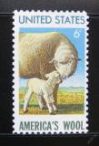 Poštovní známka USA 1971 Americká vlna Mi# 1025