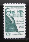 Poštovní známka USA 1969 Daniel Webster Mi# 991