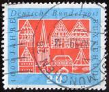 Poštovní známka Německo 1959 Buxtehude milénium Mi# 312