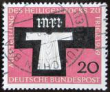 Poštovní známka Německo 1959 Katedrála v Trevíru Mi# 313