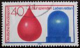 Poštovní známka Německo 1974 Dárcovství krve Mi# 797