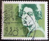 Poštovní známka Německo 1975 Ricarda Huch, spisovatelka Mi# 827