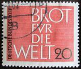Poštovní známka Německo 1962 Chleba pro svět Mi# 389