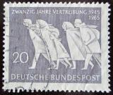 Poštovní známka Německo 1965 Vyhoštění Němců Mi# 479