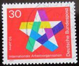 Poštovní známka Německo 1969 ILO, 50. výročí Mi# 582