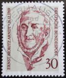 Poštovní známka Německo 1969 Ernst Moritz Arndt, básník Mi# 611