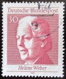 Poštovní známka Německo 1969 Helene Weber Mi# 598