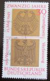 Poštovní známka Německo 1969 Výročí vzniku Mi# 585