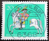 Poštovní známka Německo 1970 Münchhausen na koni Mi# 623