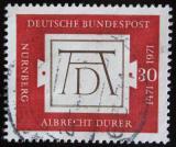 Poštovní známka Německo 1971 Dürerův podpis Mi# 677
