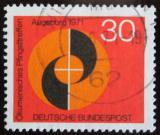 Poštovní známka Německo 1971 Ekumenický kongres Mi# 679