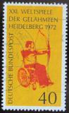 Poštovní známka Německo 1972 Hry pro postižené Mi# 733