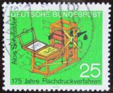 Poštovní známka Německo 1972 Litografická tiskárna Mi# 715