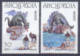Poštovní známky Albánie 1997 Evropa CEPT, legendy Mi# 2619-20