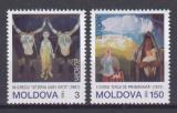 Poštovní známky Moldavsko 1993 Evropa CEPT, umění Mi# 94-95