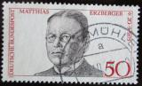 Poštovní známka Německo 1975 Matthias Erzberger, politik Mi# 865
