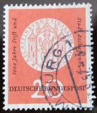 Poštovní známka Německo 1957 Aschaffenburg milénium Mi# 255