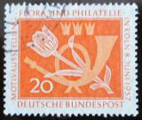 Poštovní známka Německo 1957 Flóra a filatelie Mi# 254