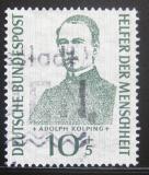 Poštovní známka Německo 1955 Adolph Kolping Mi# 223