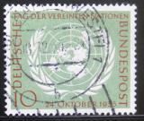 Poštovní známka Německo 1955 Den OSN Mi# 221