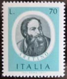 Poštovní známka Itálie 1977 Pietro Aretino, spisovatel Mi# 1573