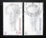Poštovní známky Dánsko 2000 Královna Margrethe II Mi# 1238-39