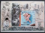 Poštovní známka Čad 1970 Olympijské hry Mi# Block 11 A