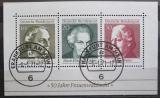 Poštovní známky Německo 1969 Slavné ženy Mi# Block 5