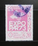 Poštovní známka Paraguay 1973 Výstava EXPOPAR Mi# 2463