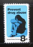Poštovní známka USA 1971 Boj proti drogám Mi# 1050