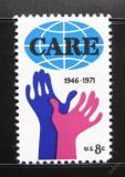 Poštovní známka USA 1971 CARE, 25. výročí Mi# 1051