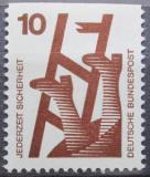 Poštovní známka Německo 1974 Prevence nehod Mi# 695 C
