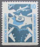Poštovní známka Německo 1988 Letiště Frankfurt Mi# 1347 D