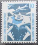 Poštovní známka Německo 1988 Letiště Frankfurt Mi# 1347 A