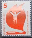 Poštovní známka Německo 1971 Prevence nehod Mi# 694 A